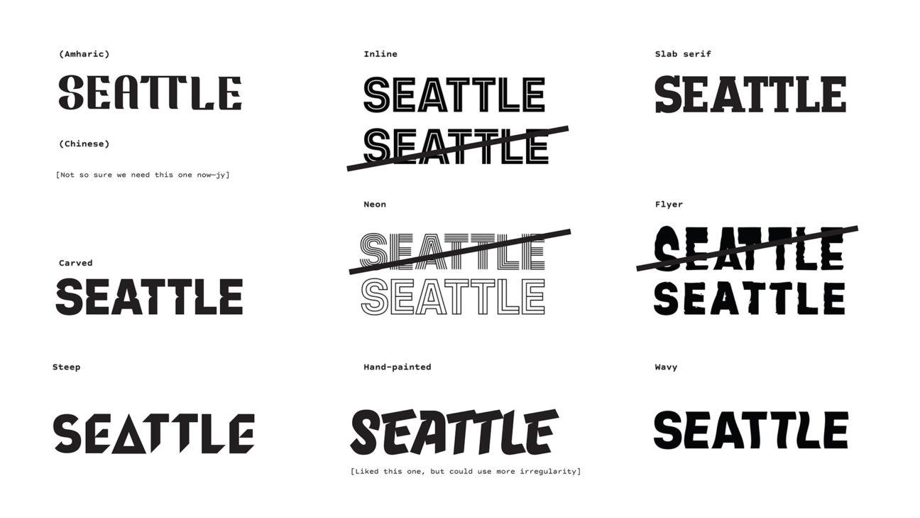 Seattle Typeface - Schema