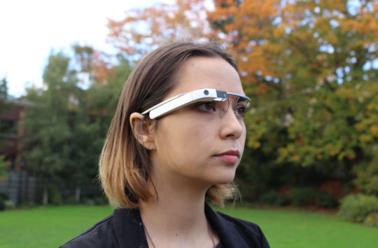 Schema designed an application for Google Glass that captures the memorable moments in your life